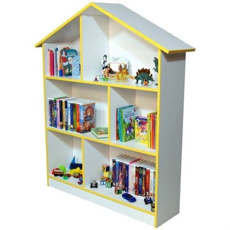 kids doll houses kids dollhouse bookcase in white 5010 11wh