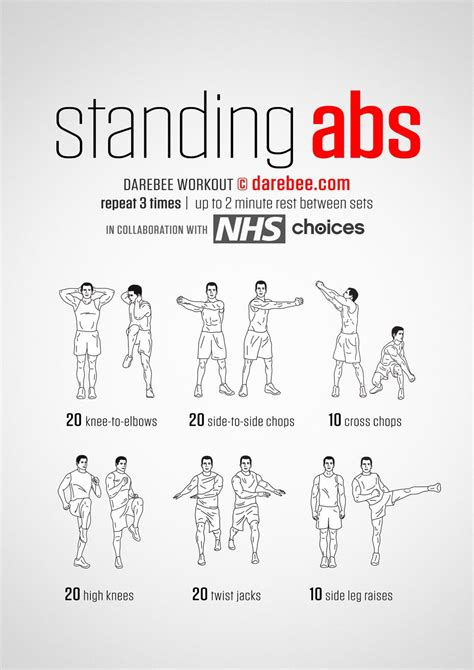 chair exercises at work for stomach standing abs workouts belly exercises