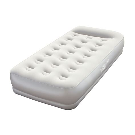 air beds at kmart bestway restaira premium twin air bed with built in pump