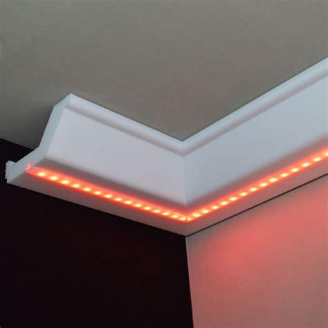 styroporleisten decke stuck led beleuchtung profil zierprofil