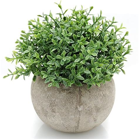 home decor artificial plants velener mini plastic artificial plants benn grass in pot