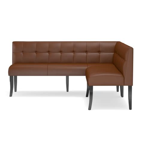 leather banquette dining banquette leather williams sonoma