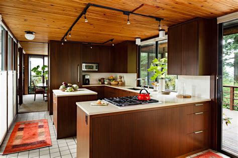 Mid Century Modern Kitchen Design Mid Century Kitchen Portland Or Mosaik Design