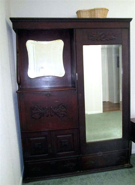 Antique Cedar Armoire by Bedroom Awesome Antique Armoire Cabinet Cedar Wardrobe