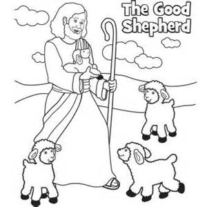 the good shepherd the good and coloring pages on pinterest
