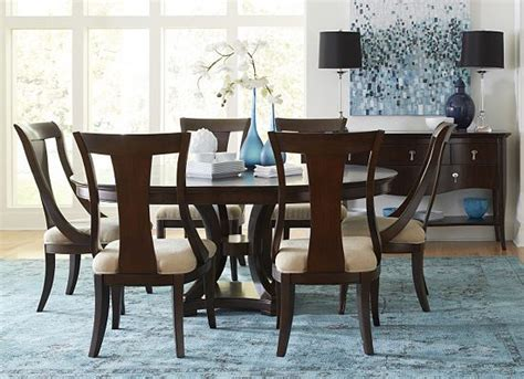 havertys dining room sets dining rooms astor park round table 6x chairs dining
