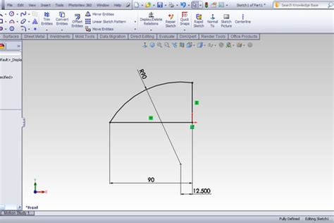 Solidworks Tutorial Indent | tutorial indent feature in solidworks grabcad