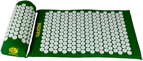 Acupressure Mat by Nayoya S Acupressure Mat And Neck Pillow Provides