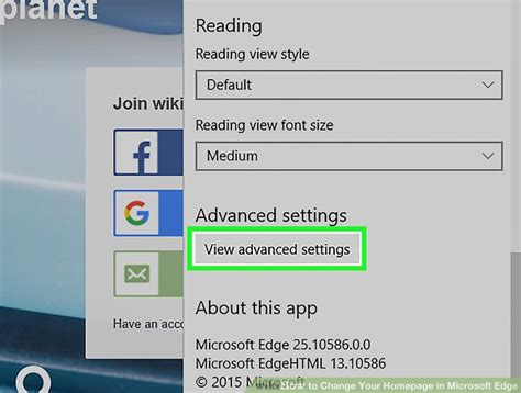 how to change your homepage in microsoft edge 13 steps