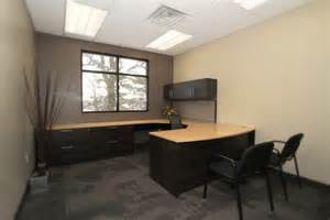 Simple Office Design Ideas Architecture Simple Office Space Design With Half Wooden Office Desk And Black Office Chairs