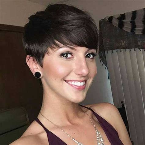 easy hairstyles with bangs 20 pixie cut with bangs short hairstyles 2017 2018