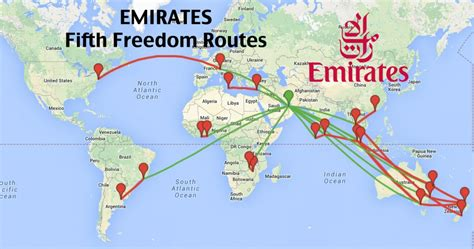 emirates a380 routes top 16 longest emirates fifth freedom routes coming to a