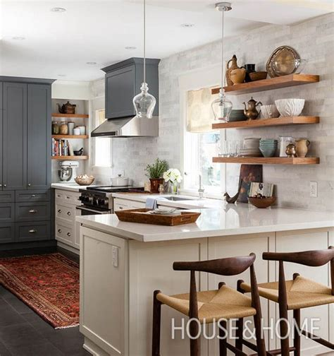 kitchen cabinets open shelving 30 kitchens that to bare all with open shelves open