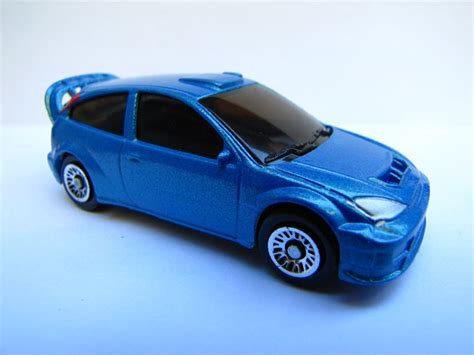 Majoratte Ford majorette ford focus wrc met wheels wielen matchbox