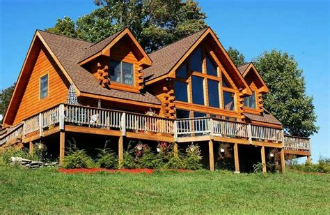 log homes with wrap around porches wrap around porch estemerwalt homes log cabins log