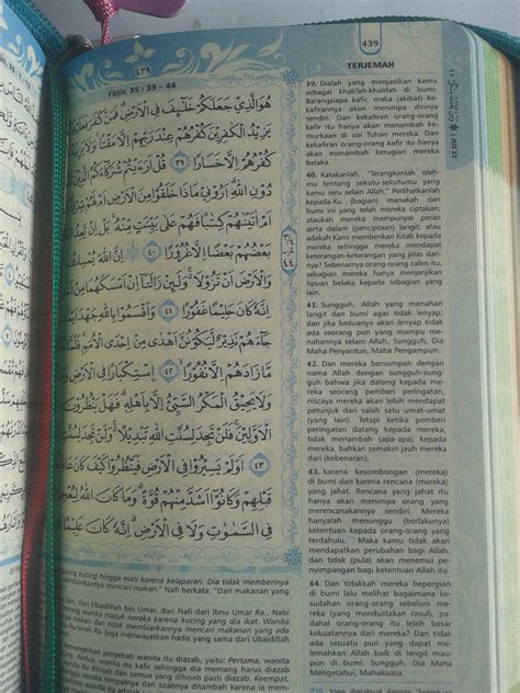 Al Quran Mushaf Hafalan Ar Ribh A6 al qur an muslimah tanpa terjemah resleting tali a6