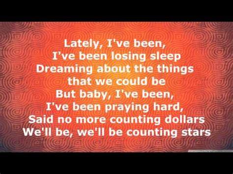 st lyrics him counting onerepublic lyrics acoustic onerepublic