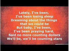 OneRepublic - Counting Stars [Lyrics] - ListenOnRepeat Listenonrepeat