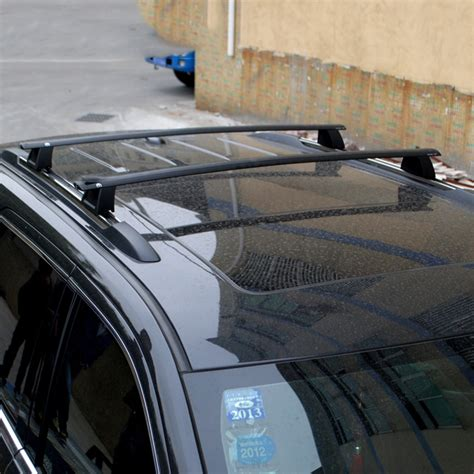 car styling aluminum alloy roof rack luggage kit set