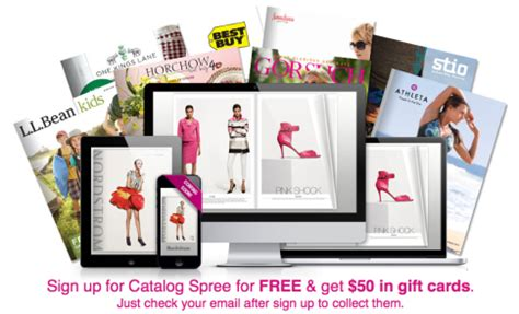 free 50 in gift cards from catalog spree best buy jockey l l bean and more - Buy Ll Bean Gift Cards