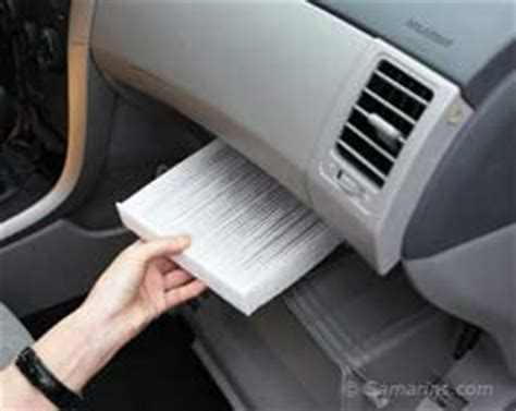 changing your cabin air filter