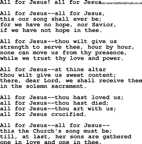 song for jesus hymns and songs for the eucharist communion all for