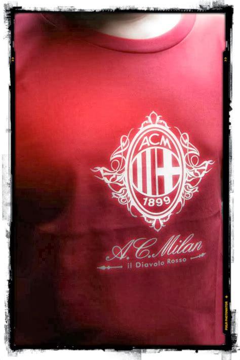 Kaos Distro Bola Ac Milan Var Ac Milan 01 toko baju bola kaos grade original