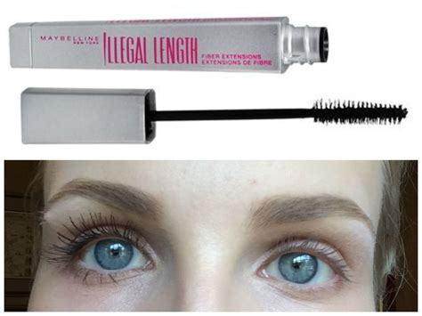 Maybelline Illegal Lengths comparison of top mascaras beautynow