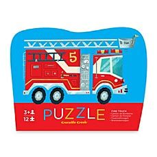 Mini Chunky Puzzle Truck shop baby puzzle stacking puzzle explore city