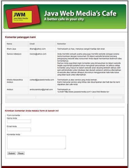 membuat form komentar dengan html achmad bayhaqy blog membuat aplikasi komentar dengan