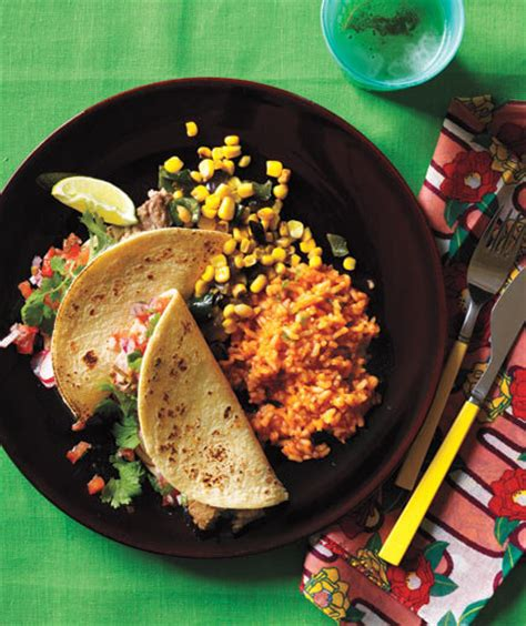 mexican food dinner mexican dinner menu real simple
