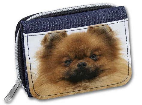 pomeranian purse pomeranian denim purse wallet gift idea id 136542