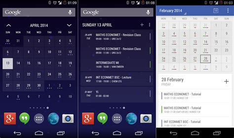 calendar for android best new android ios and windows phone apps for march 2014