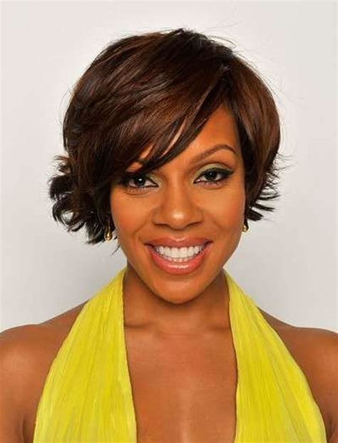 side swept hairstyles for black women 2018 short bob hairstyles for black women 26 excellent
