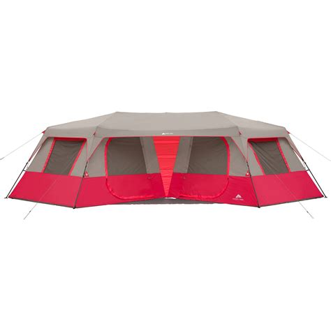 cabin tents new quality ozark trail 25 x 12 6 quot instant double villa
