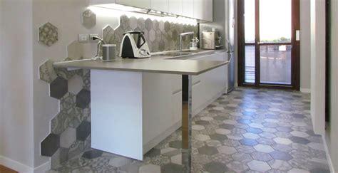 piastrelle cementine la cucina si veste di cementine marazzi