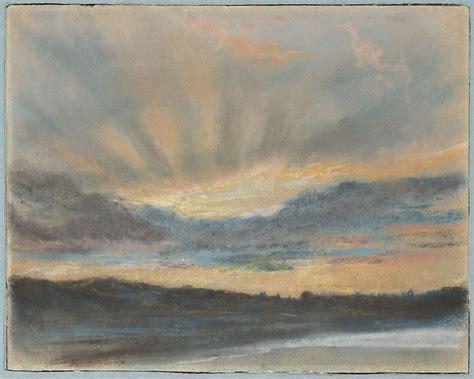 eugene delacroix sunset  met