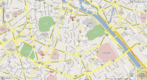 printable street map paris printable paris street map paris maps france best