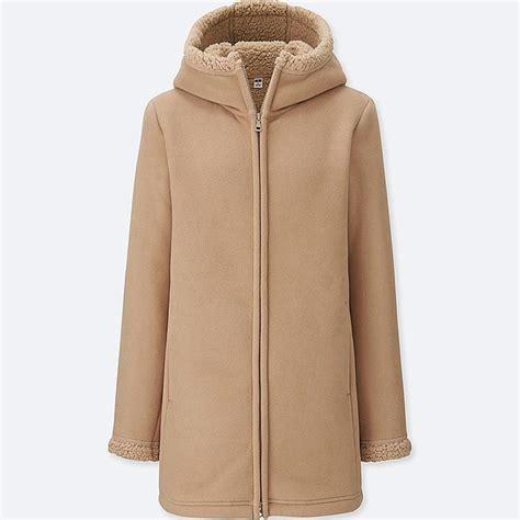 Fleece Coat pile lined fleece sleeve coat uniqlo us