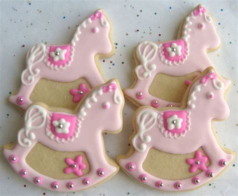 galletas decoradas cookies 8416138192 rocking horse cookies baby shower cookie favors 1 dozen caballos galleta y galletas decoradas