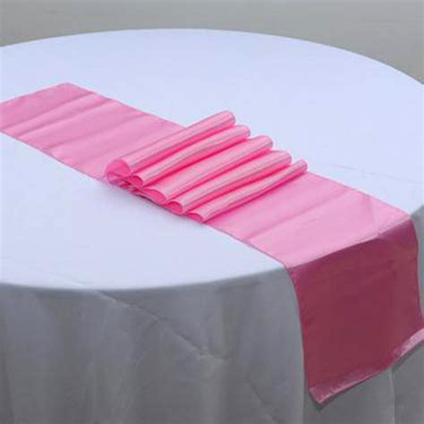 gold pink green satin table runner satin wedding venue luxury decoration h ebay