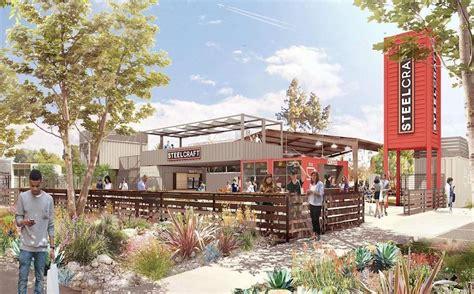 steelcraft opens outdoor urban eatery  garden grove