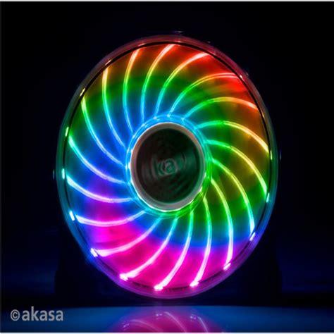 120mm rgb fan akasa vegas x7 rgb led fan 120mm ocuk