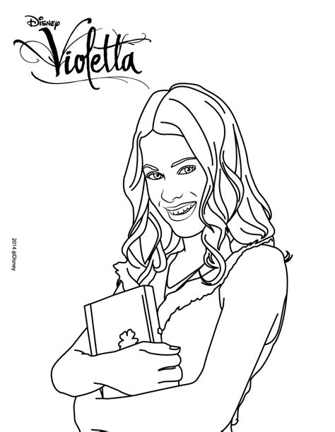 printable coloring pages violetta free violetta 1 coloring pages