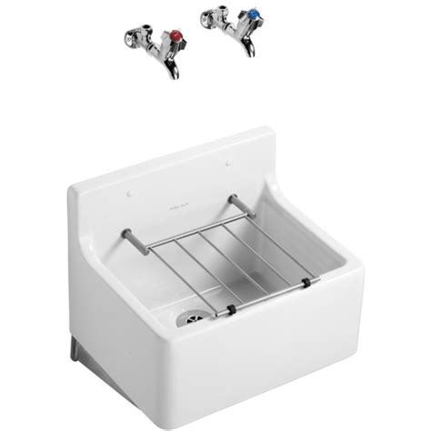 Armitage Shanks Cleaners Sink armitage shanks birch cleaners sink 51cm with hardwood pad grating
