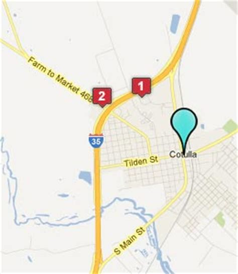 map of cotulla texas cotulla texas hotels motels see all discounts