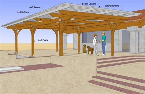 Backyard Covered Patio by Jamul Patio Cover Build