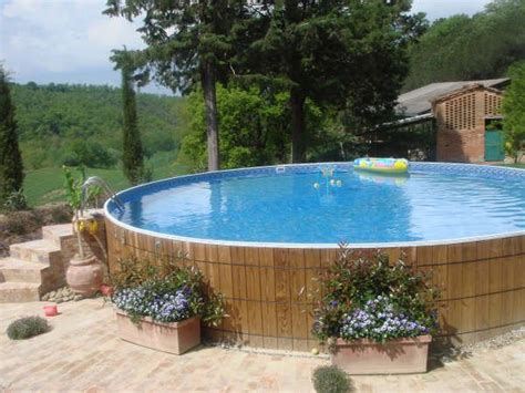 landscape ideas around above ground pools 2017 2018