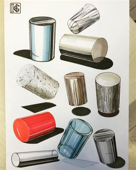 Innenarchitektur Ideen 4677 by Material Culture Cylinders Next Week Hw Copicmarkers