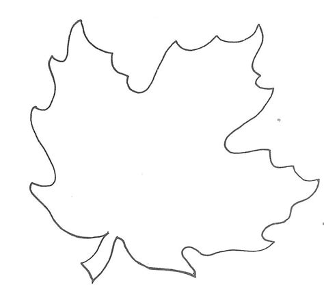 leaf template best 25 leaf template ideas on fall leaf